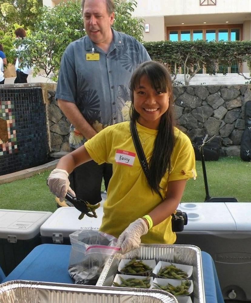 Senior Kasandra Kitagawa has been elected to the Kamehameha Lions Club, a singular honor for a high school student.