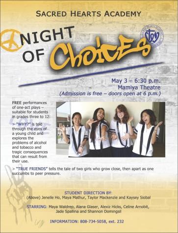 "Director's Internship program culminates with ""A Night of Choices"""