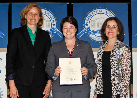 Science department chair earns presidential recognition