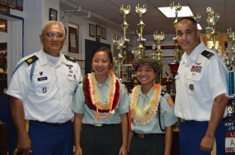 JROTC emphasizes values of citizenship, leadership and self-discipline