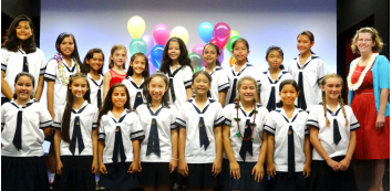 Lower school inducts new student council