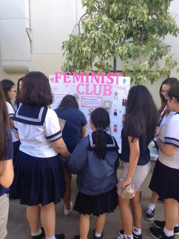 New Feminist Club advocates gender equality