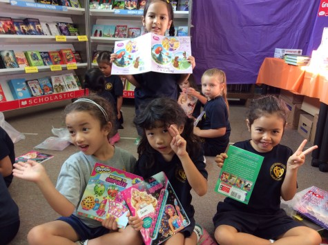Lower school readers raise funds for library