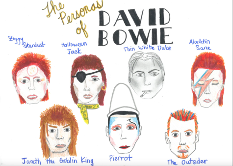 Legendary David Bowie returns to the stars