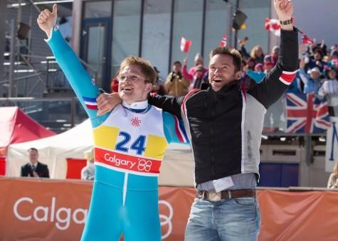 Olympic skier soars in 'Eddie the Eagle'