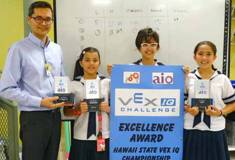 VEX IQ team takes on international competition for first time