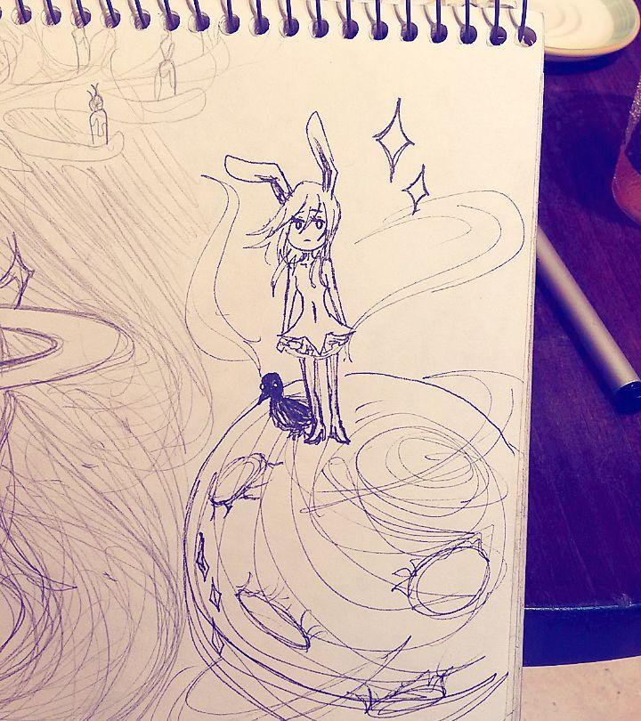 Junior+Sola+Nagaoki+shows+her+artistic+abilities+with+this+sketch+she+posted+online+for+last+year%E2%80%99s+Inktober.