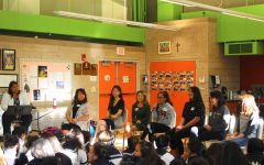 Alumnae visits to share experiences