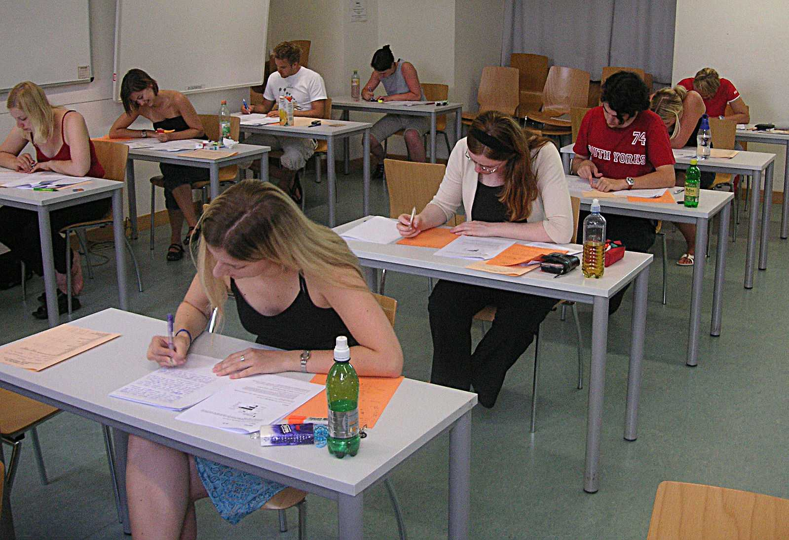 The SAT is a national exam taken by high school students as a prerequisite for college. Photo courtesy of Wikimedia Commons.