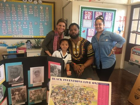 First graders celebrate Black History Month