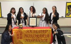 Spanish Honor Society greets new inductees
