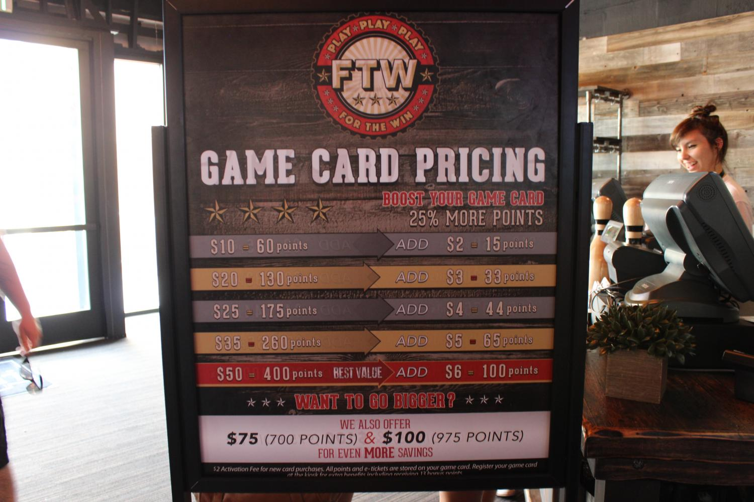 Prices+for+the+game+cards+people+need+to+purchase+to+play+games.+