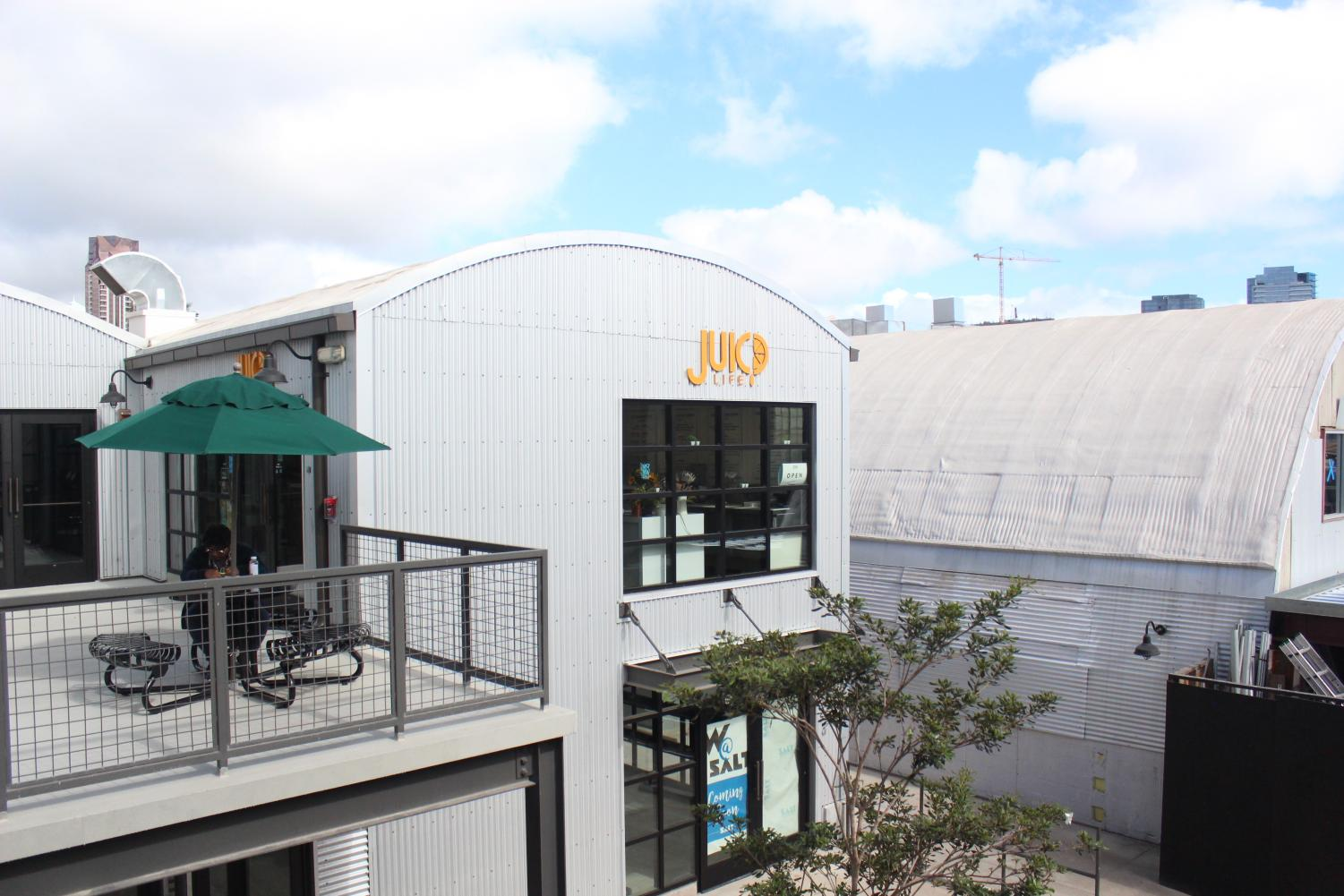 Juicd Life is among the many new eateries and shops located in the Kakaako district.