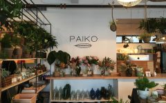 Pick some plants at Paiko