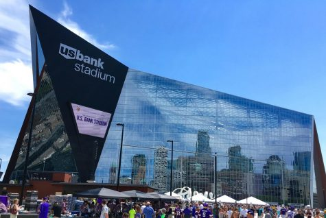 The 52nd Annual Super Bowl was located at the U.S. Bank Stadium. Photo courtesy of Wikimedia.
