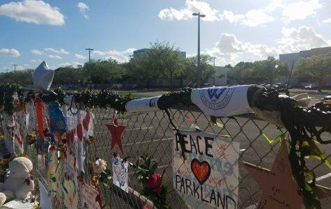Academy students make a 'Lei of Aloha' for gun violence victims