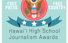 Hawaii High School Journalism Award Poster