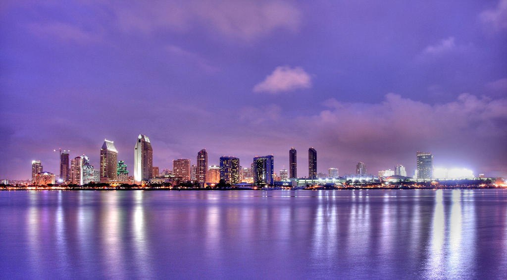 San Diego day city view. Photo courtesy of Flickr