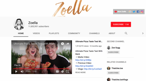 Social media star Zoella