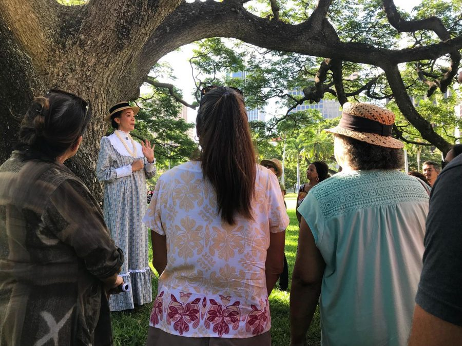 Finding personal meaning in historical tour