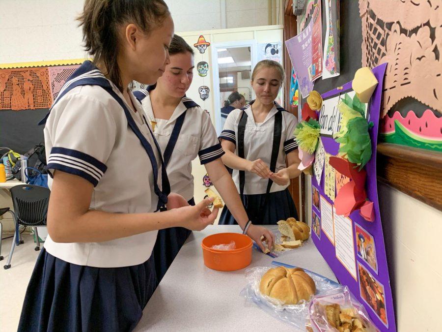 Classroom comes alive with Día De Los Muertos celebration