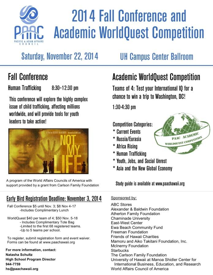 PAAC+Club+sends+four+students+to+WorldQuest+Competition