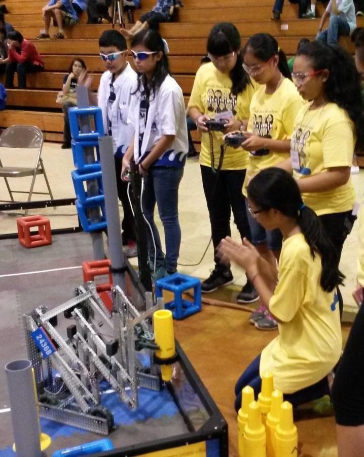 Lancer+Robotics+VEX+teams+rank+high+in+Central+Oahu+tournament
