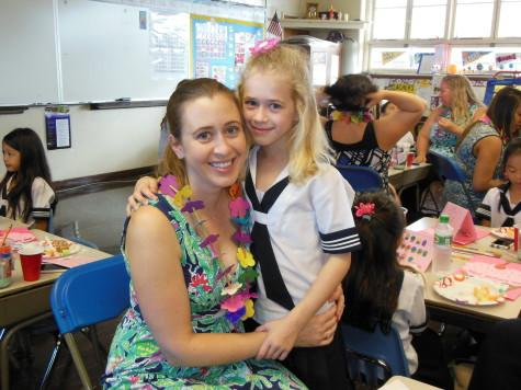 First graders honor mothers