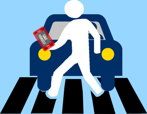 Save pedestrians from themselves