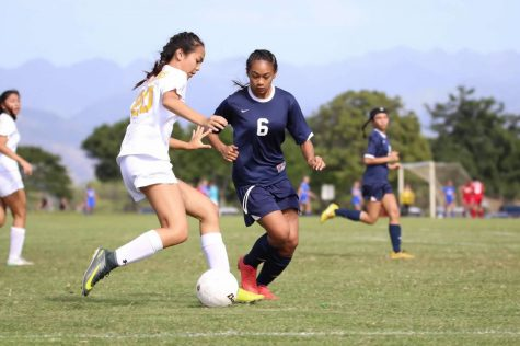 Varsity soccer battles it out in state tourney