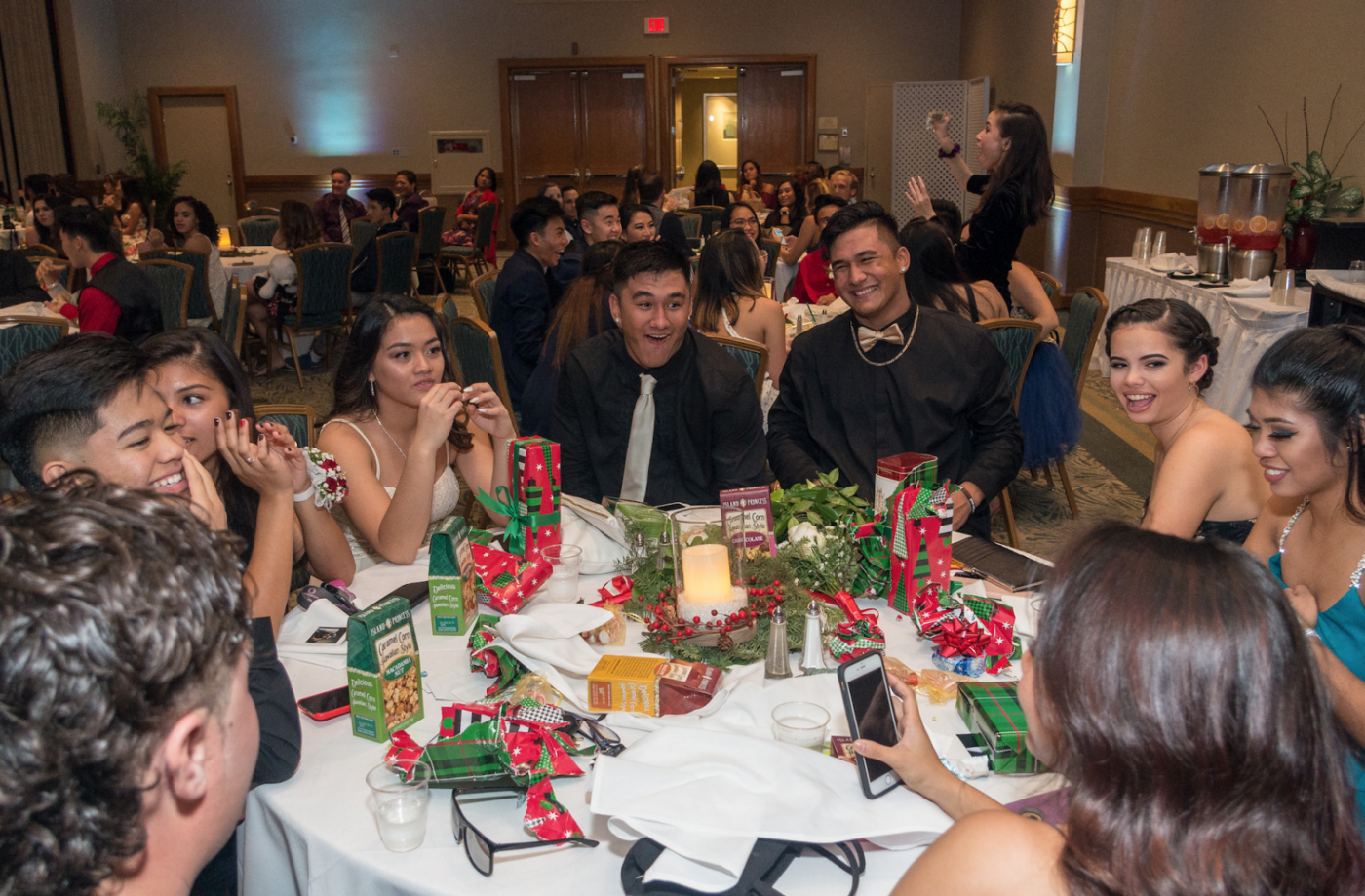 For the first time in school history, Academy students were allowed to bring female guests to the Winter Ball. Photo courtesy of Steven Tagupa.