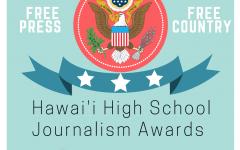 Hawaii High School Journalism Award Poster
