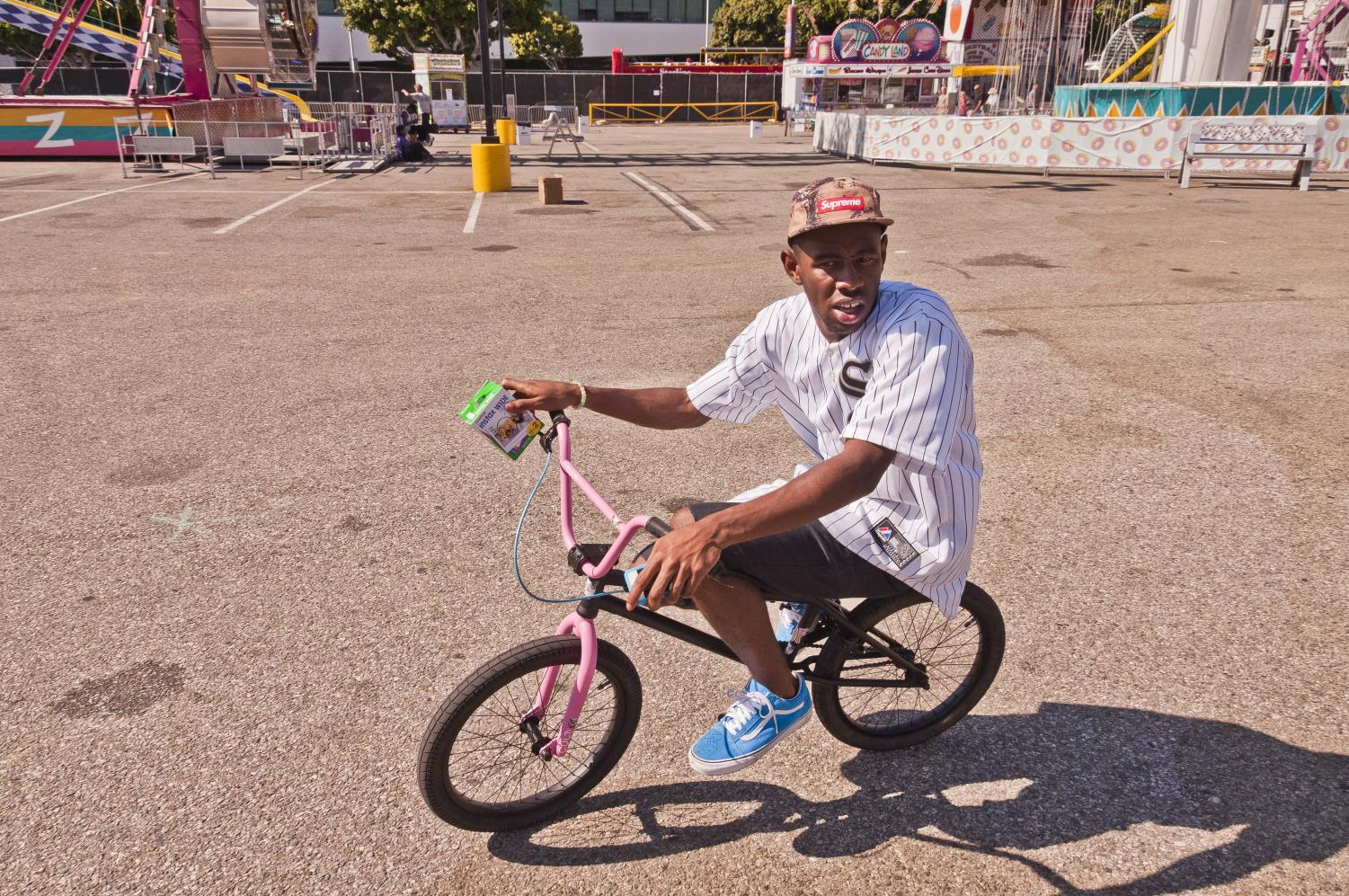 The soundtrack included songs by song artist Tyler The Creator. Photo courtesy of Wikipedia.