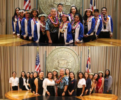 Academy students take a trip to the State Capitol