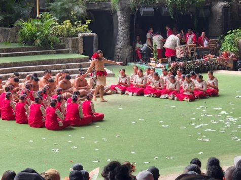 The Inoa Lou Hanganuu (ILH) Poly Club performs last year, as part of the annual We Are Samoa Festival at the Polynesian Cultural Center. The club aims to educate students about the Samoan culture. All photos by Gwen Kava.