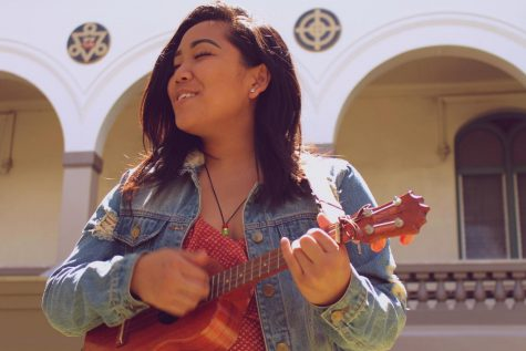 Senior Rachel Faith Javier took her passion for performing to a higher level after the passing of her older brother. She plays an ukulele gifted by him and believes it